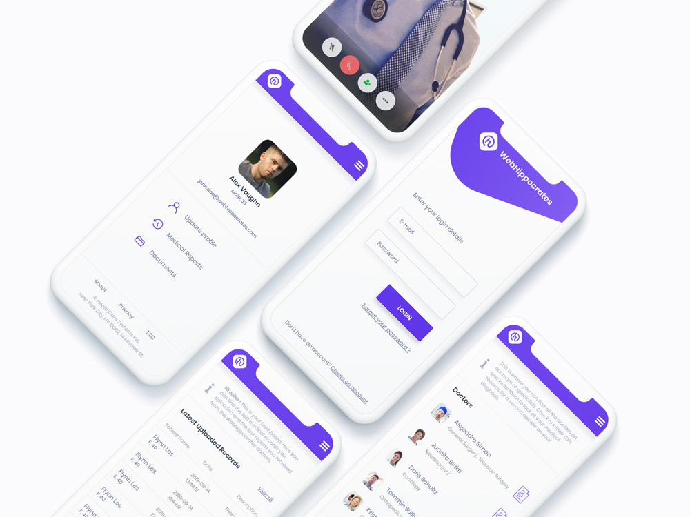 WebHippocrates Mobile App